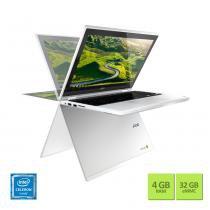 Chromebook Acer CB5-132T-C9F1 Intel Celeron Quad Core 4GB 32 eMMC - Acer