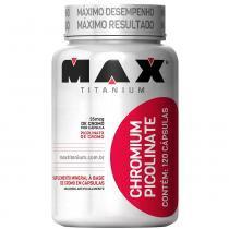 Chromium Picolinate 120 Cápsulas - Max Titanium - Natural - Max Titanium