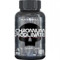 Chromium Picolinate 200 cápsulas - Black Skull -