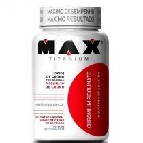 Chromium Picolinate (60 Cápsulas) - Max titanium