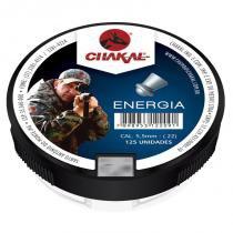 Chumbinho de espingarda energia 5.5 com 125 - Chakal