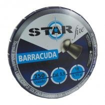 Chumbinho espingarda barracuda 5.5 com 250 unidades - Starfire