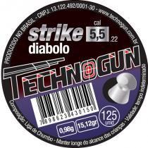Chumbinho Espingarda Strike 5.1/2 Com 125 Unidades - Comprenet