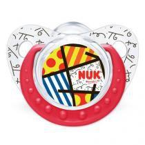 Chupeta design adore trend girl s1 vermelha nuk pa729275-ig - Nuk