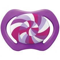 Chupeta Design Candy Bico Orto 6M+ Lilás - Lillo - Lillo