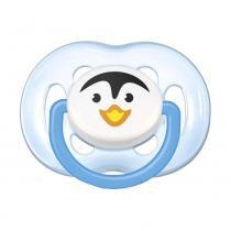 Chupeta FreeFlow Pinguim - BPA Free - 6 a 18 Meses - Philips Avent - Philips Avent