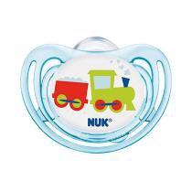 Chupeta - Freestyle Clean - Boy - Fase 1 - Azul - NUK -