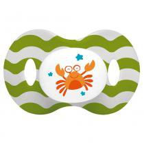 Chupeta Ocean Pp Verde Ortoflex Tam 1 (0-6 M) Multikids Baby - BB135 - MultikidsBaby