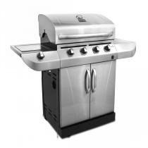 CHURRASQUEIRA A GÁS CLASSIC BR CHAR BROIL 4 QUEIMA 1 COOK TOP - Char Broil