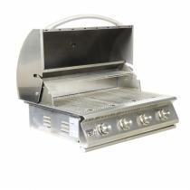 Churrasqueira a Gas Home e Grill Premium HG-4B - 4 Queimadores - 100 Inox 304 - Home  grill