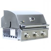 Churrasqueira a Gás Home e Grill Smart HG-3BS - 3 Queimadores - 100 Inox 304 - Home  grill