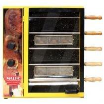 Churrasqueira à Gas Malta Gastronomia 3101055 - com 5 Espetos
