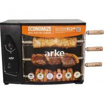 Churrasqueira à Gás Rotativa com 3 Espetos AGR-03 ARKE - Arke