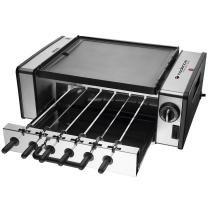 Churrasqueira Elétrica Automatic Grill 6 Espetinhos GRL700 - Cadence - Cadence