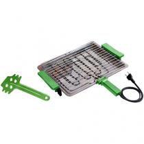 Churrasqueira Elétrica com Gelha Removível - Anurb Platinum Grill Plus