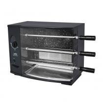 Churrasqueira Elétrica Rotativa Vitta Premium-03 á Gás 3 Espetos Arke -