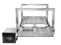 Churrasqueira Giratória 3 Espetos Artinoxgrill 30x47cm Motor Bivolt AG-3 Fixa -