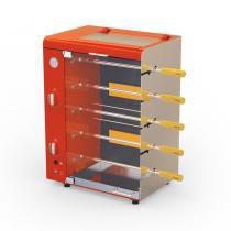 Churrasqueira Vertical a Gás Com Acendedor Automático 5 Espetos Giratórios Com Rechaud Stang - Anodilar