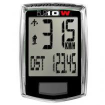 Ciclocomputador Echowell U10w Preto Sem Fio / Wireless -