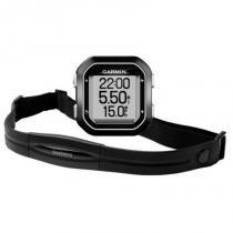Ciclocomputador Edge 25 Com Cinta HRM Bundle Garmin GPS Auto Lap Compacto Bluetooth Cinza -
