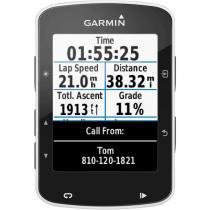 Ciclocomputador Edge 520 Garmin GPS Segmento Strava Alta Resolução 2,3 Preto -