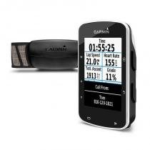 Ciclocomputador Garmin Edge 520 Bundle Preto com GPS Strava Glonass -