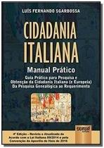 Cidadania italiana - manual pratico - guia pratico - Jurua