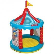 Circo Inflável Grande com 25 Bolinhas 8013-6 - Fisher Price - Fisher Price