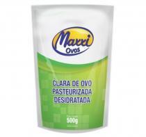 Clara do Ovo Pasteurizada e desidratada Albumina (500g) Maxxi Ovos - Baunilha -