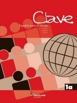 CLAVE 1A - LIBRO DEL ALUMNO + CD - 3ª ED - Moderna didatico importado