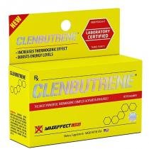 CLEMBUTRENE 60 TABS MAXEFFECT - TERMOGENICO - MAX EFFECT