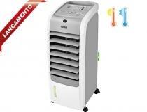 Climatizador de Ar Quente e Frio Consul C1R07AB Branco 4 em 1: - Consul