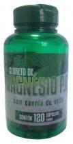Cloreto de Magnésio P.A com Extrato seco de Canela de Velho 120 cáps. 500 mg - Sebastião rocha de souza - me