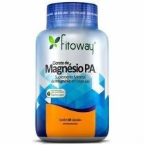 Cloreto de Magnésio P.A. - 60 Cápsulas - Fitoway -