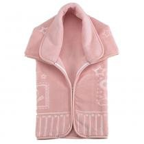 Cobertor Baby Sac Premium Relevo Ursinho Mensageiro Rosa - Colibri - Colibri