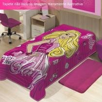 Cobertor Barbie Mattel  Jolitex - CasaTema