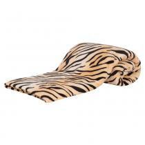 Cobertor Casal Padrão Manta de Microfibra Safari 01 Peça (Toque Aveludado) - Cor 01 Bege - Guilherme Enxovais