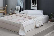 Cobertor Casal Raschel Aveludado 1,80x2,20m Greek - Bege Corttex - corttex