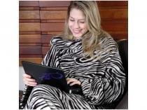 Cobertor com Manga Zebra Master Comfort - 01523-ML