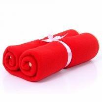 Cobertor de Soft Premium Vermelho - Futon Pet -