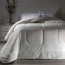Cobertor Dupla Face Extramacio King Duo Blanket Branco - 100 Poliéster - Kacyumara -
