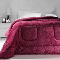 Cobertor Dupla Face Extramacio Queen Duo Blanket Rosa Cherry - 100 Poliéster - Kacyumara -