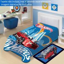 Cobertor Hot Wheels Mattel  Jolitex - CasaTema