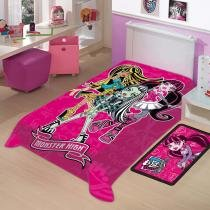 Cobertor Infantil Disney Monster High - Jolitex - Monster High - Jolitex