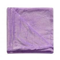 Cobertor infantil menina Lilás bebê 90 cm x 1,10m - Tecebem