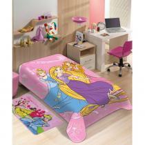 Cobertor Infantil Raschel Princesas Juvenil - Jolitex - CasaTema