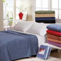 Cobertor Jolitex Casal Microfibra 260 g/m² - Jolitex - Azul Petróleo-2188001 - Jolitex