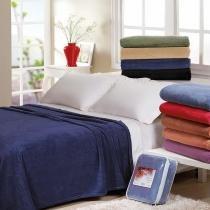 Cobertor Jolitex Casal Microfibra 260 g/m² - Jolitex - Marinho-2188001 - Jolitex