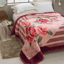 Cobertor Jolitex Pelo Alto Casal 1,80 x 2,20m Rozen -