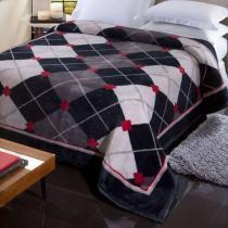 Cobertor jolitex tradicional pelo alto nobre casal -